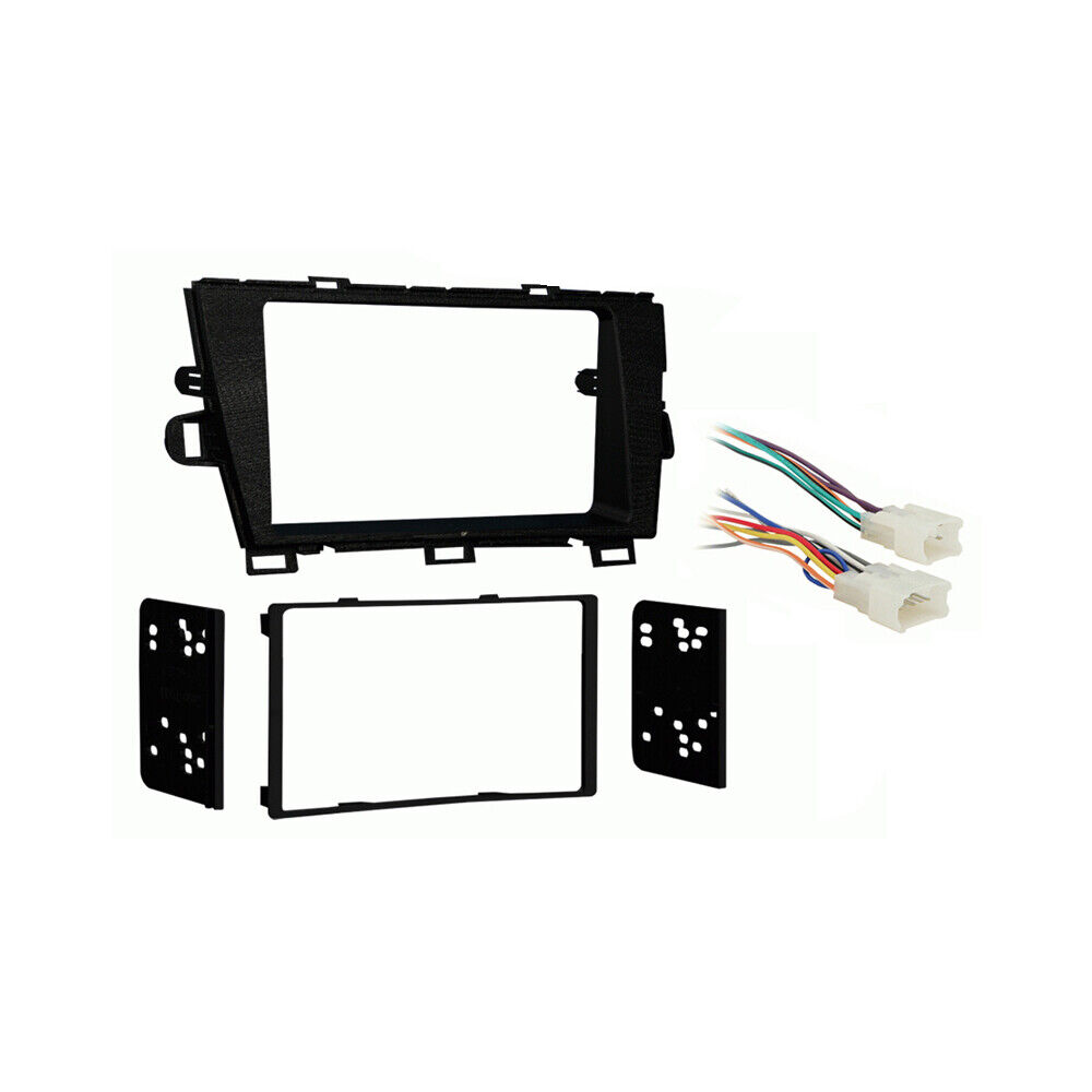 fits toyota prius prius plug in 2010 2011 double din. Black Bedroom Furniture Sets. Home Design Ideas