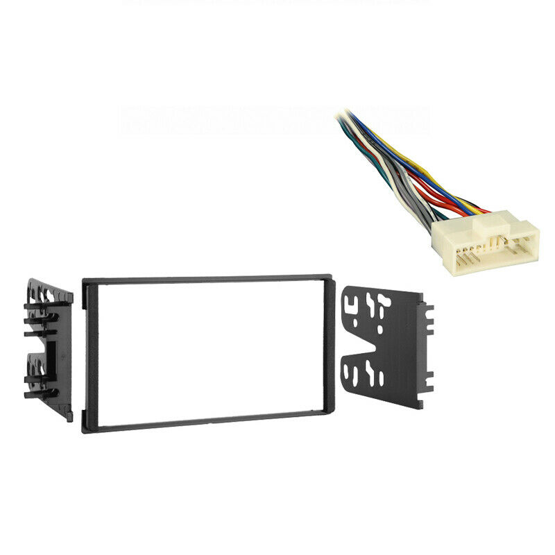Fits Kia Spectra 2000-2001 Double DIN Stereo Harness Radio ...