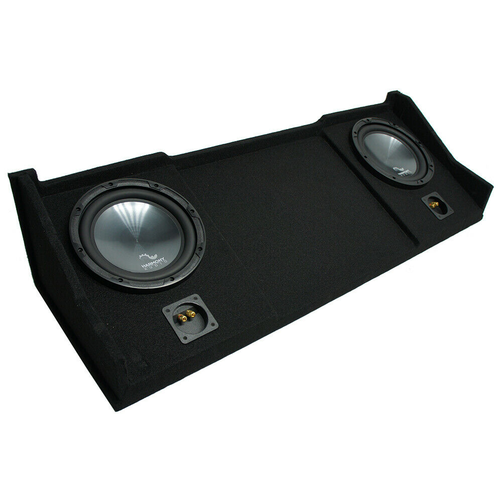 "1998-2001 Dodge Ram Ext Club Quad Truck Harmony R104 Dual 10"" Sub Box Enclosure 