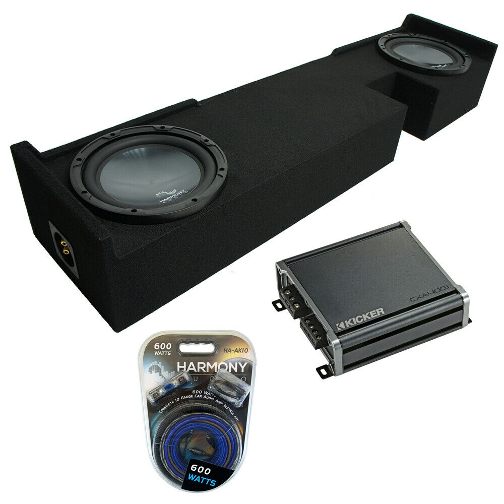 2001 2014 Ford F250 Super Crew Truck Dual 10 Subwoofer: 2000-2003 Ford F-150 Ext Super Cab Truck Harmony R124 Dual