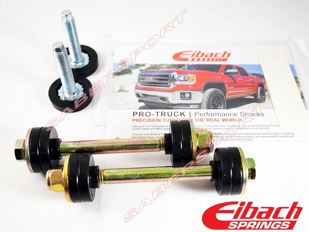 Eibach 38124 510 Pro Kit Ride Height Adjustment Bolts For