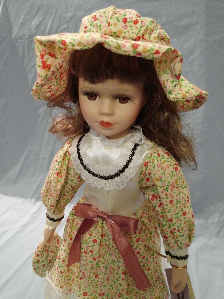 Classical Treasures Fine Bisque Collectible Porcelain Doll ...