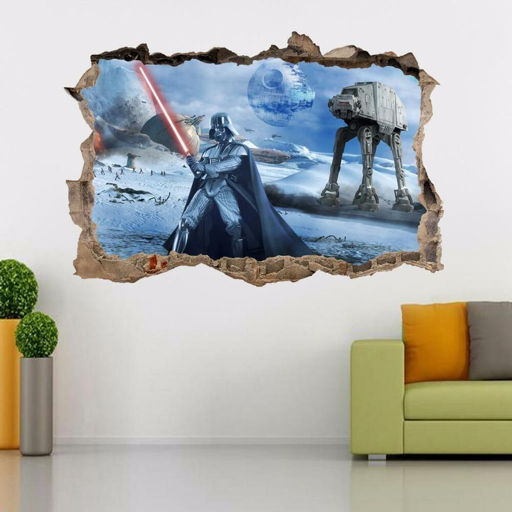 Death star wars darth vader smashed wall decal removable - Watch over the garden wall online free ...