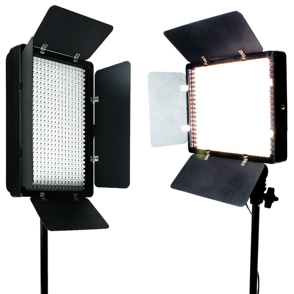 Led Studio Light Repair: 2 X 500 LED Light Panel Kit Photography Video Studio