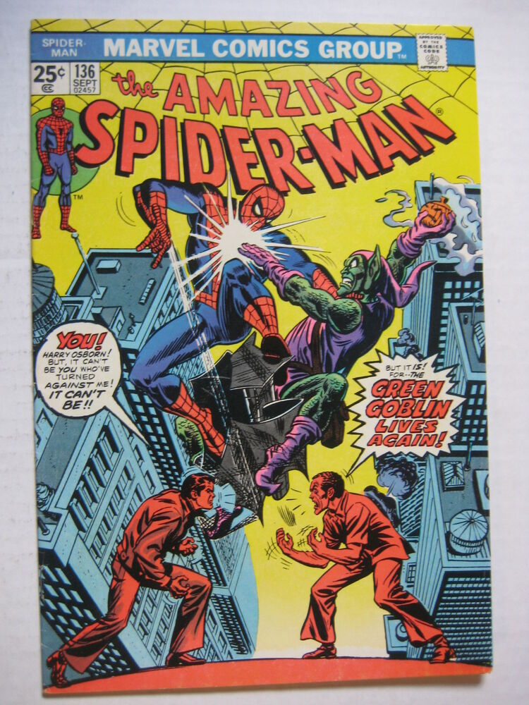 Vintage Old Collectible Marvel Comic Book Amazing ...