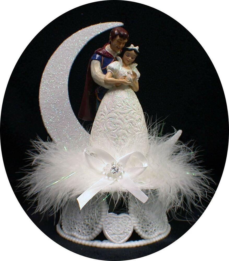 Disney Princess Snow White Prince Charming Wedding Cake