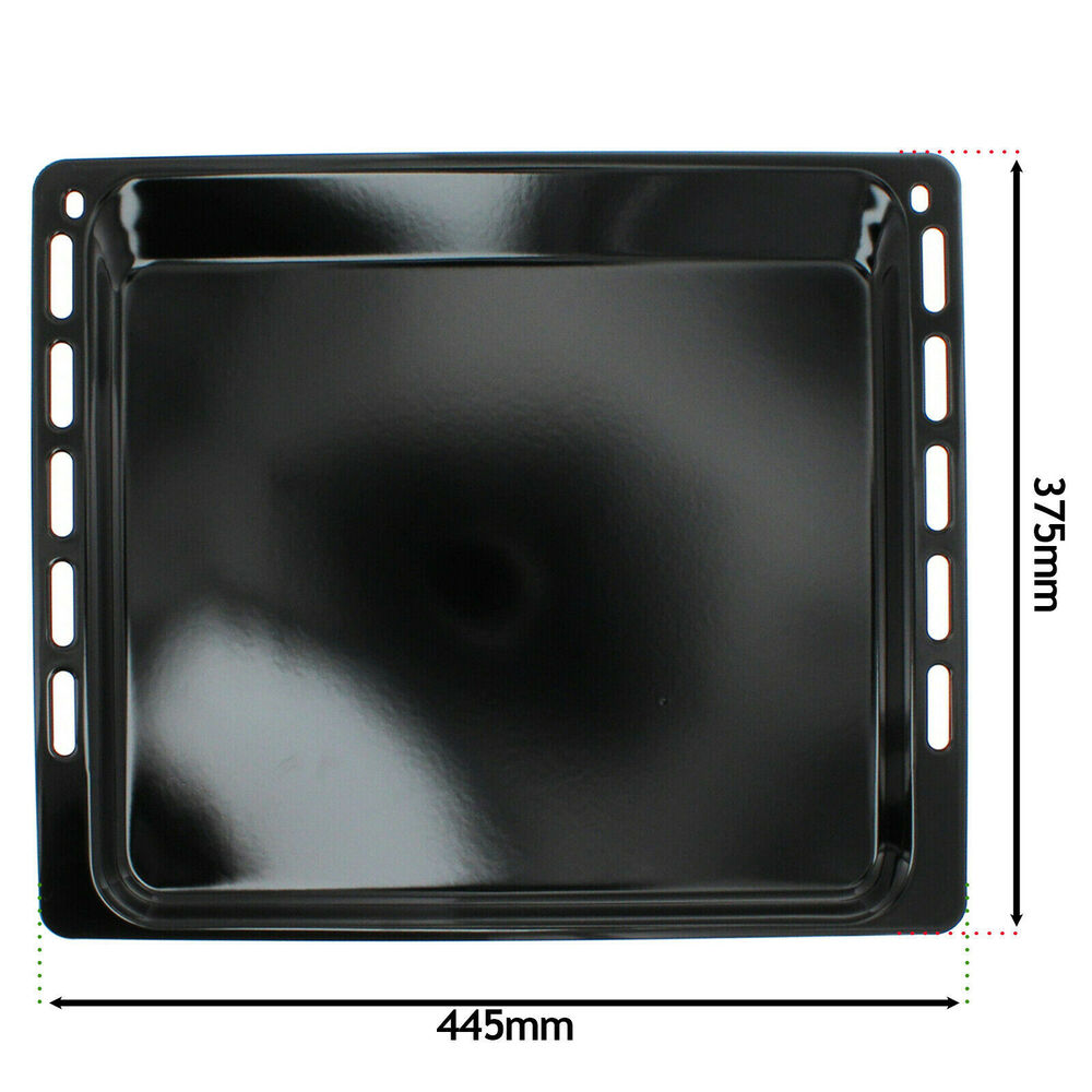 Genuine Whirlpool Oven Cooker Grill Pan Enameled Tray Base