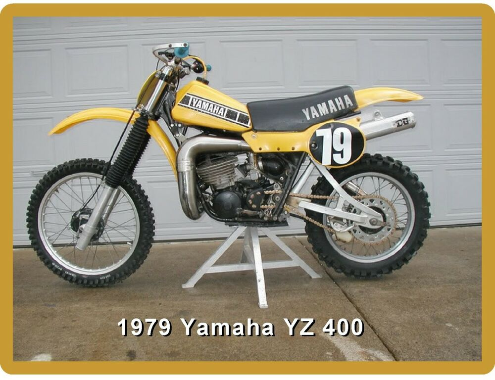 1979 yamaha yz 400 motorcycle dirt bike refrigerator. Black Bedroom Furniture Sets. Home Design Ideas