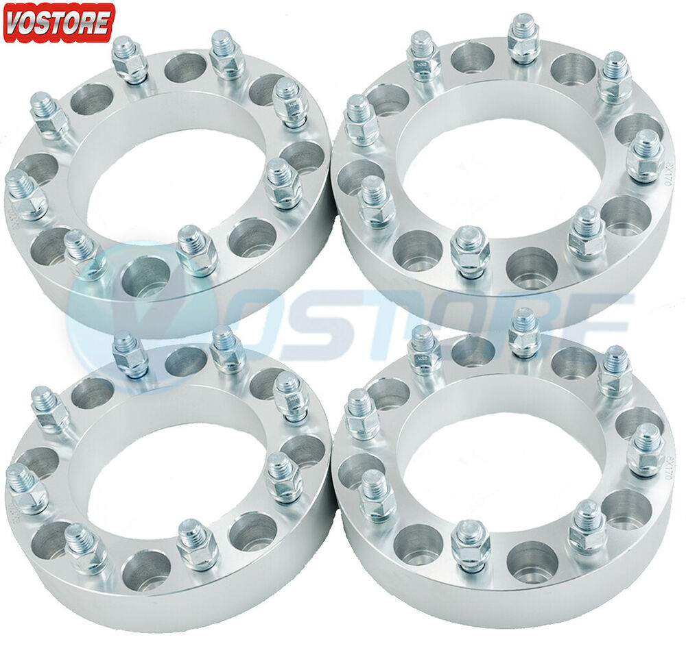 4 To 5 Lug Adapters >> (4) 1.5'' 6 Lug Hubcentric Black Wheel Spacers Adapters 6x135 for Ford F-150 | eBay