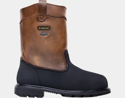 Lacrosse Highwall Wellington Safety Toe Mens 8 Wide
