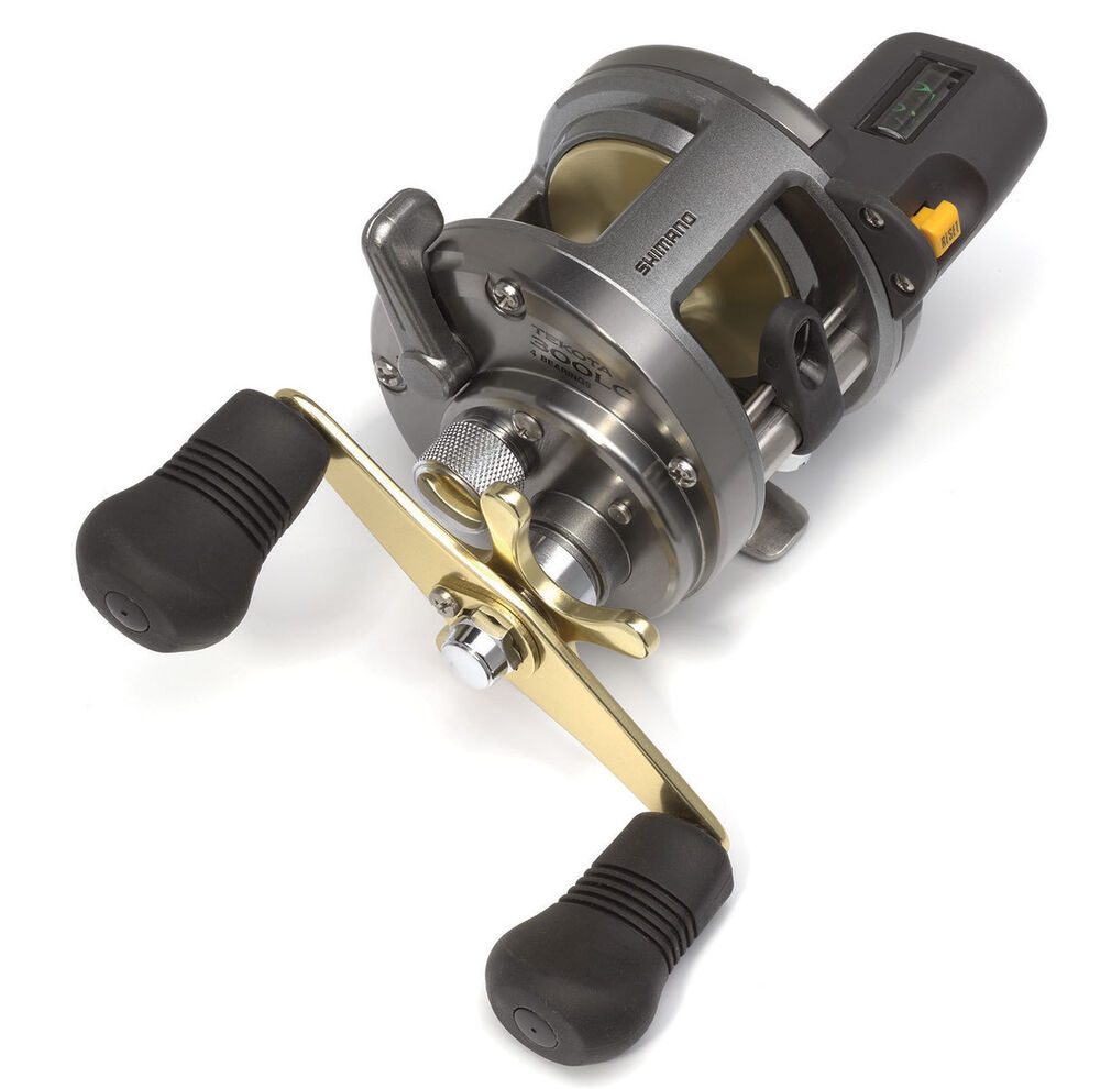 Shimano tekota 300lc line counter star drag conventional for Line counter fishing reels