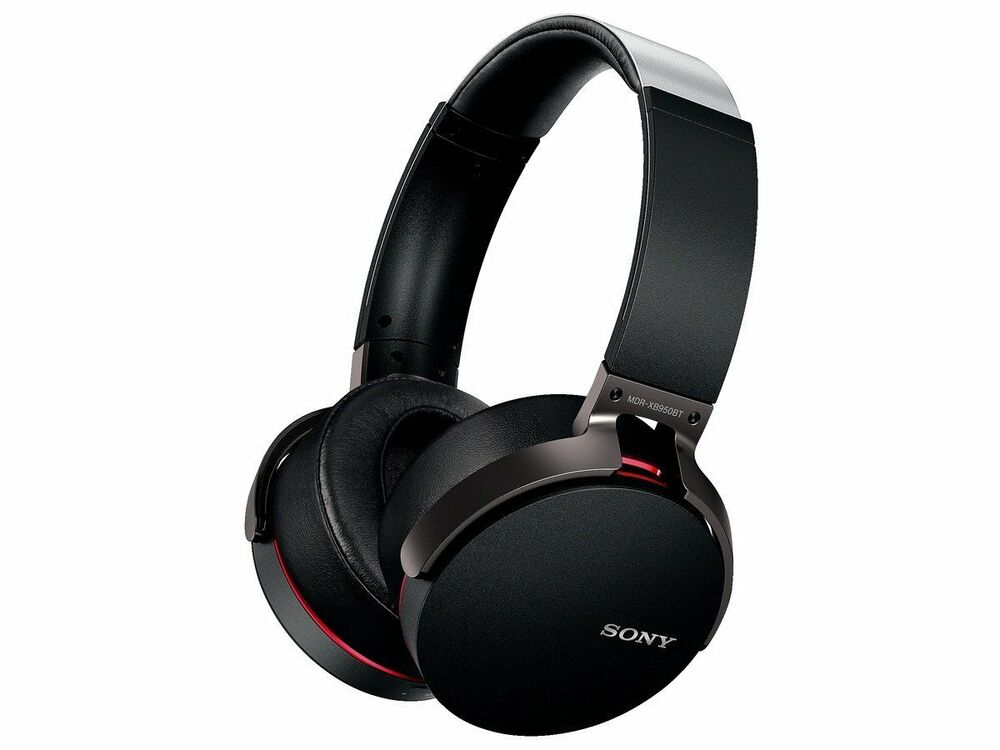 sony mdr xb950bt b extra bass bluetooth wireless. Black Bedroom Furniture Sets. Home Design Ideas