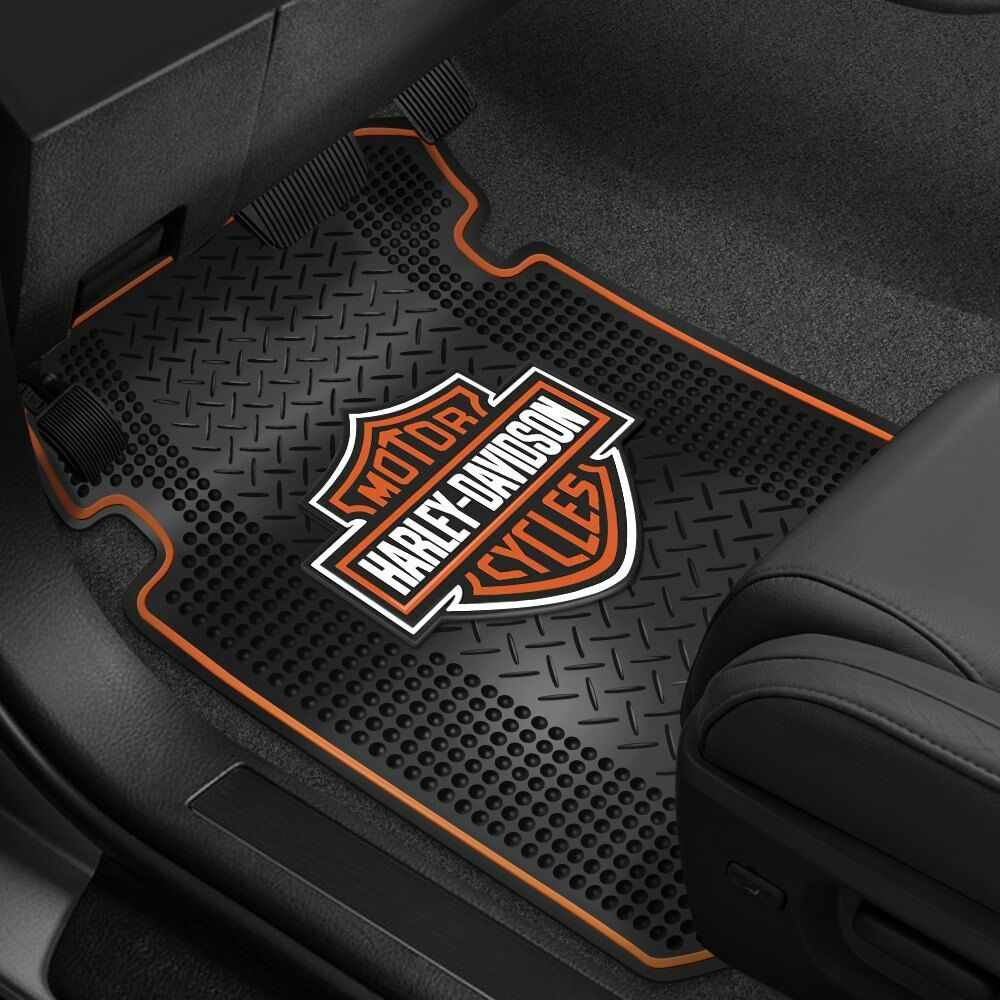 Plasticolor 000666R01 1st Row Black Rubber Floor Mats with ...