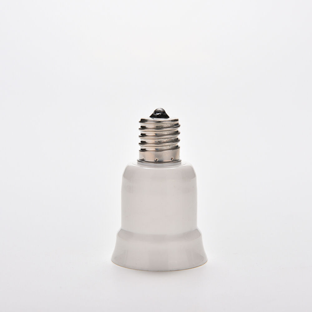 E17 to e27 socket base led halogen cfl light bulb lamp adapter converter holder ebay Light bulb socket