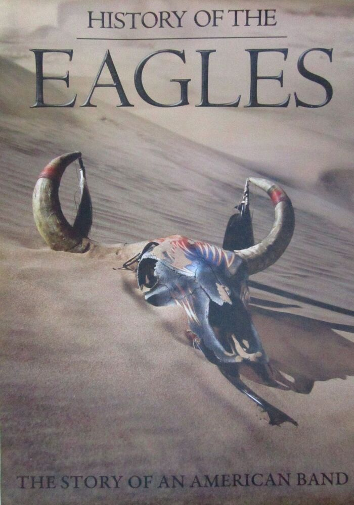 eagles history of the eagles story of american band thailand big promo poster ebay. Black Bedroom Furniture Sets. Home Design Ideas
