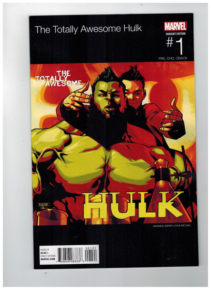TOTALLY AWESOME HULK #1 Hip Hop Variant Cover / 2016 ...