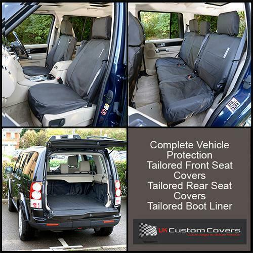 Land Rover Discovery 3 Tailored Boot Liner Front Rear
