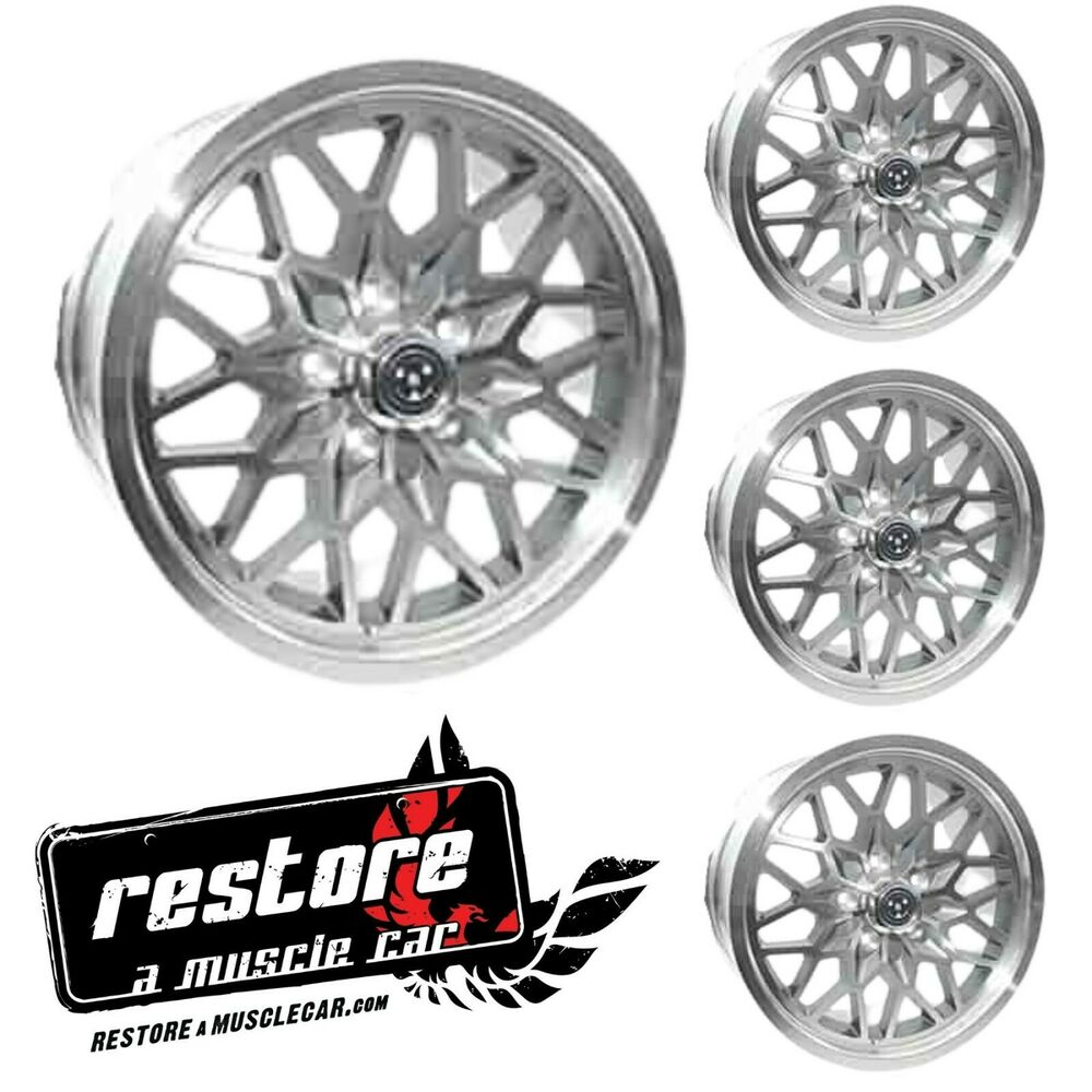 17x9 Snowflake Wheels 3rd 4th Gen Ta 1993 2002 Camaro And