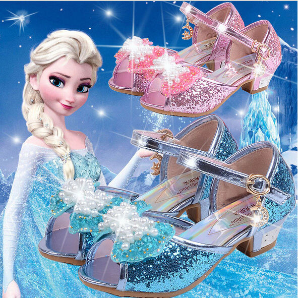 frozen m dchen cosplay sandal frozen eisk nigin anna elsa. Black Bedroom Furniture Sets. Home Design Ideas