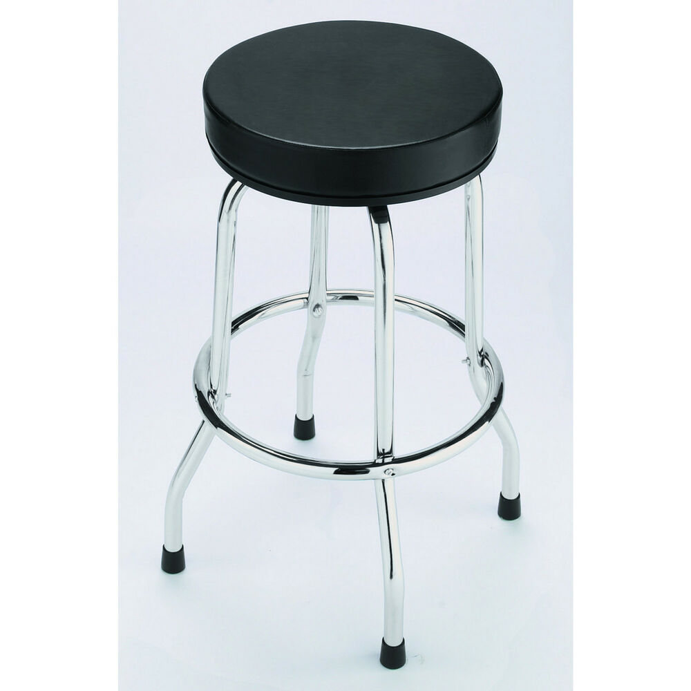 Torin Shop Stool Black Top 28in H Ebay