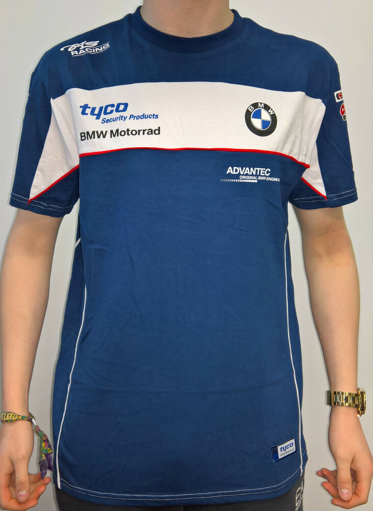 official 2016 tyco bmw motorrad tas racing bsb t shirt ebay. Black Bedroom Furniture Sets. Home Design Ideas