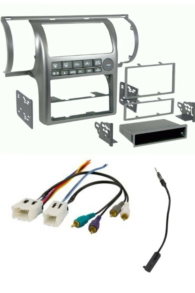 Car Stereo Radio Install Dash Kit  Wire  Ant Adapter Combo