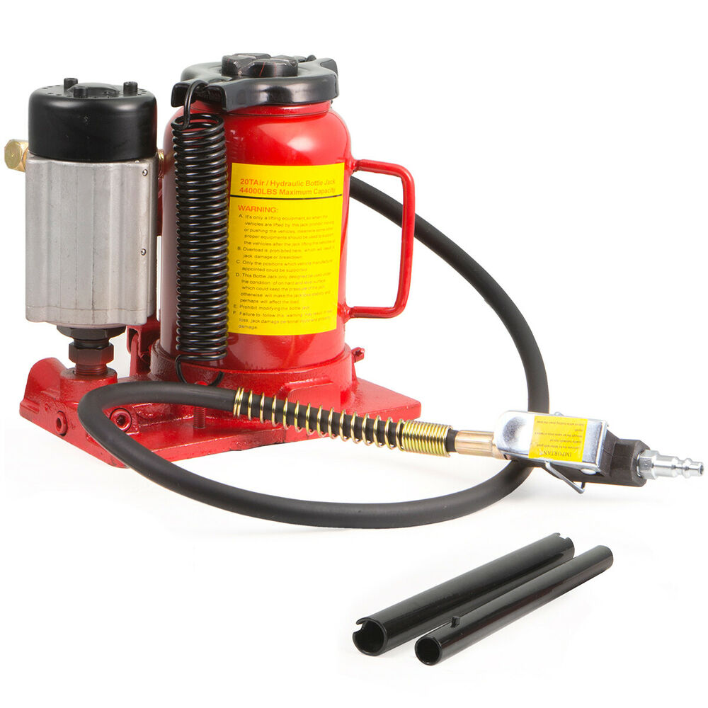20 Ton Air Manual Power Over Hydraulic Portable Low ...