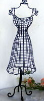 Iron Jewelry Stand Mannequin Metal Dress Form 22""