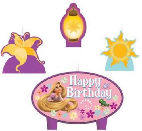 Happy Birthday Princess Cake With Candles ~ Tangled cake candles disney princess rapunzel birthday