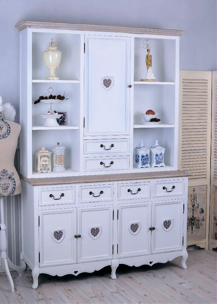 buffetschrank de cocina armario shabby chic de cocina. Black Bedroom Furniture Sets. Home Design Ideas