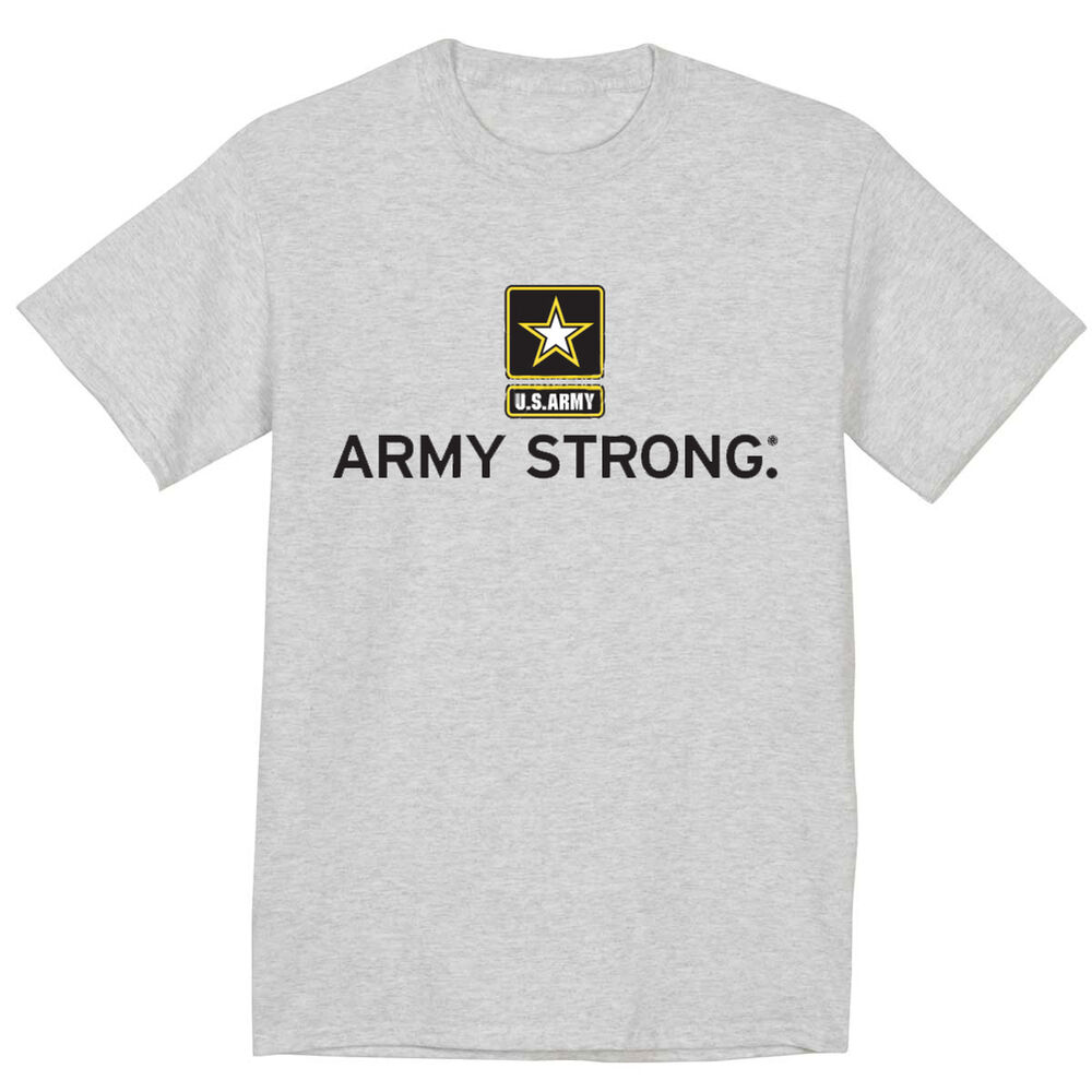 United States Army Strong T Shirt Us Army Design Men 39 S