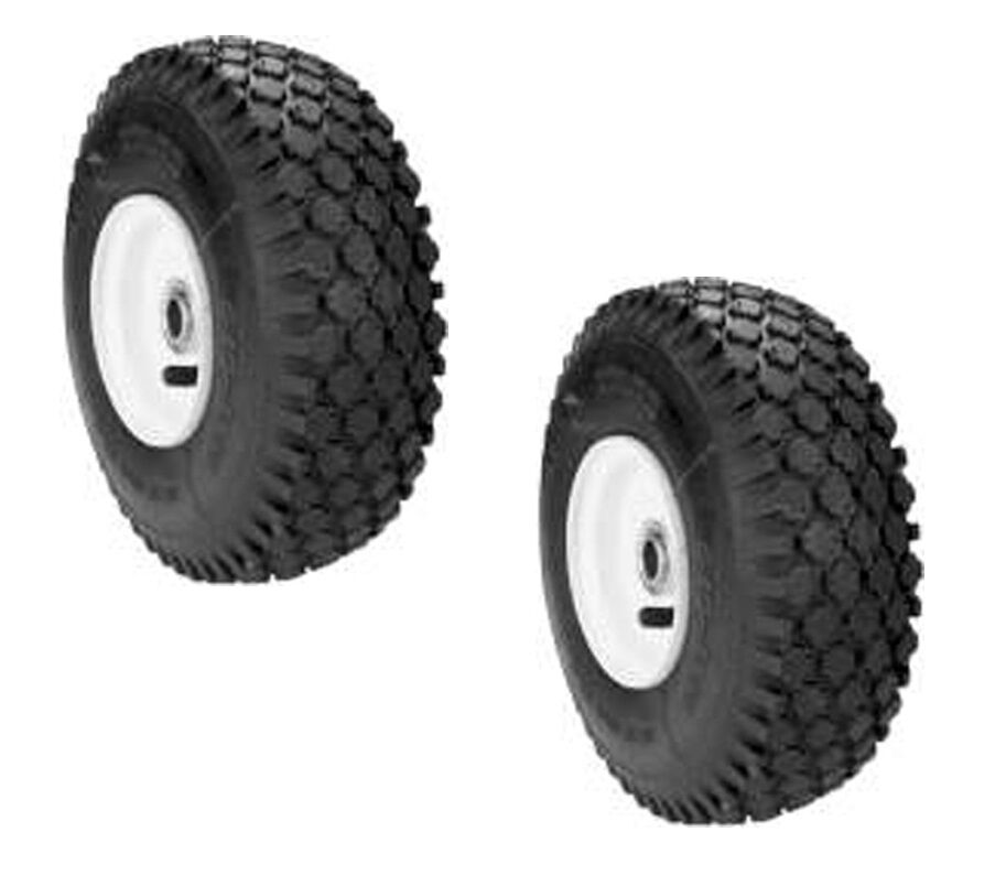 Snapper Riding Mower Wheels : Front wheel assembly set for snapper rear engine riding