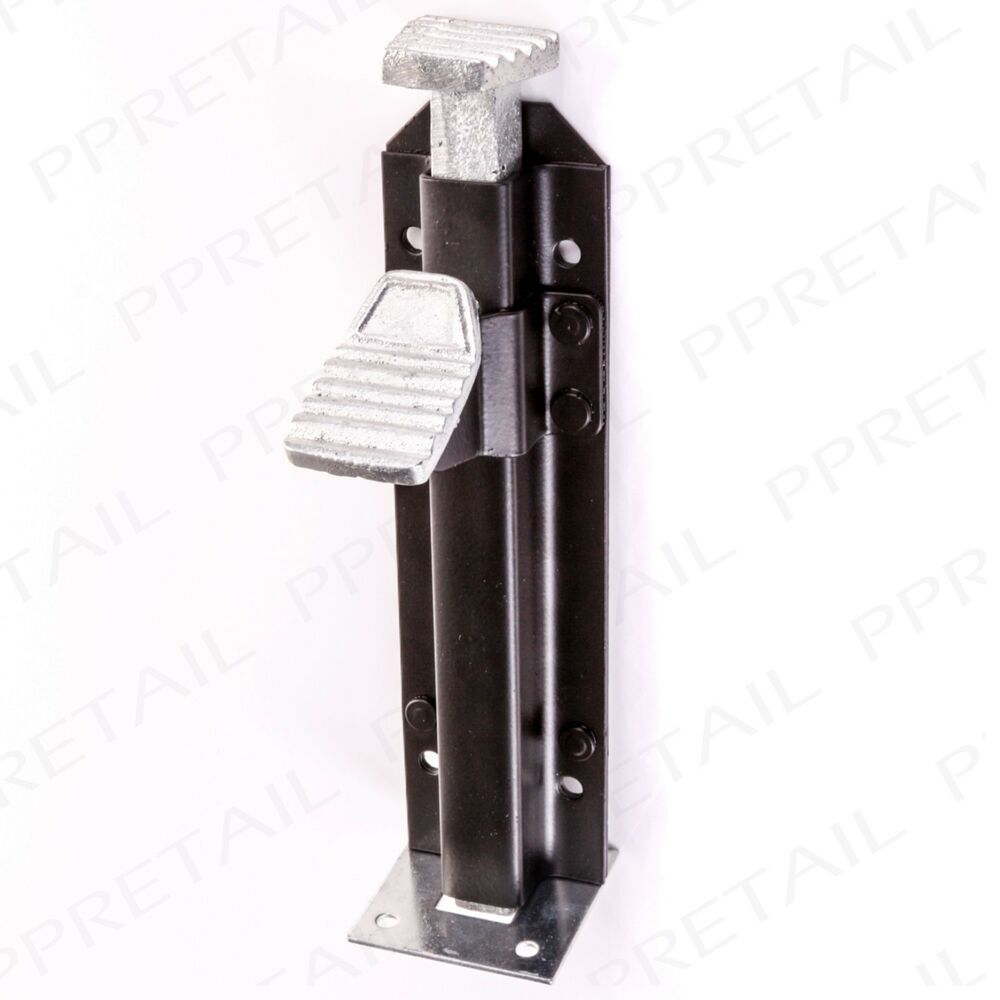 Heavy Duty Foot Operated Bolt Gate Garage Stable Door