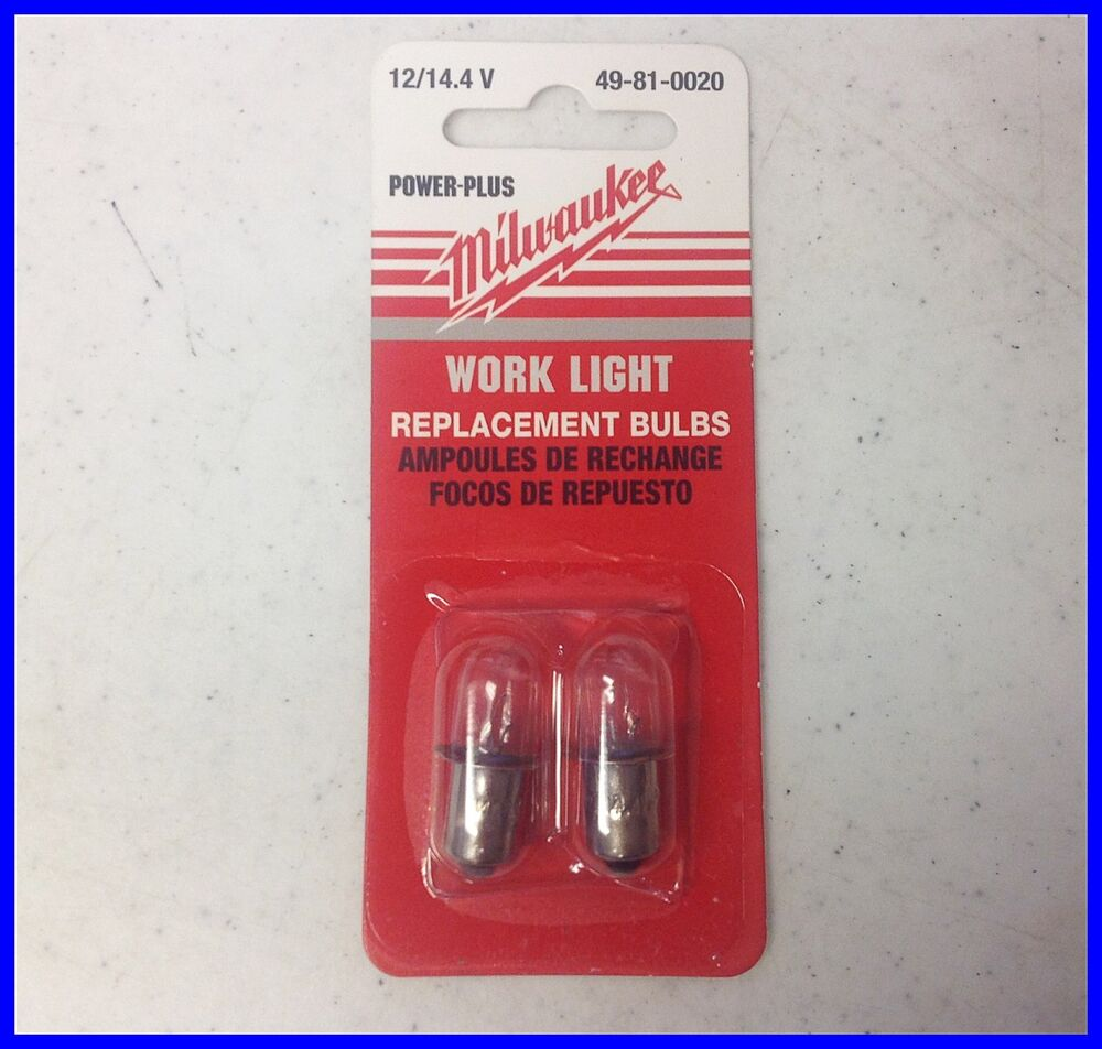 Milwaukee 49 81 0020 12 Volts To 14 4 Volts Replacement