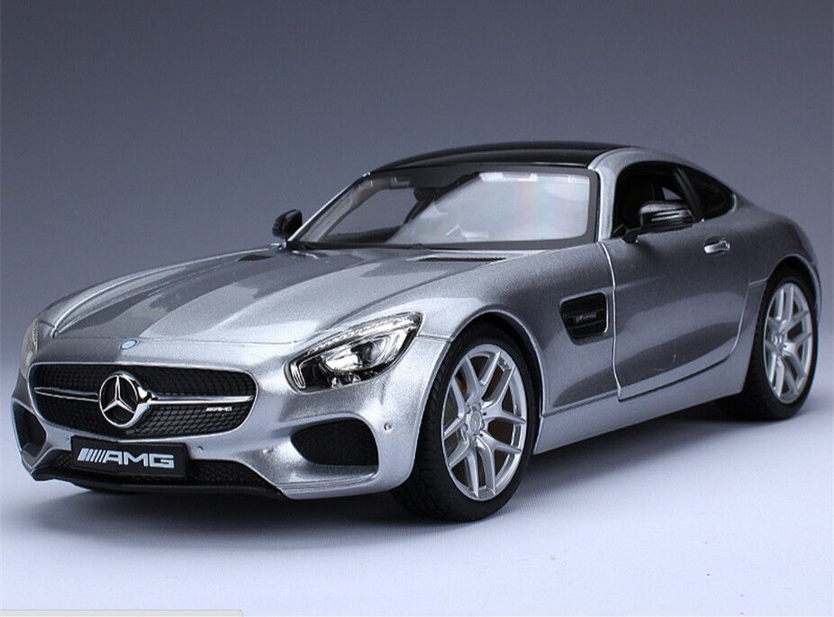 Maisto 1 18 mercedes benz amg gt diecast model car new in for Mercedes benz toy car models