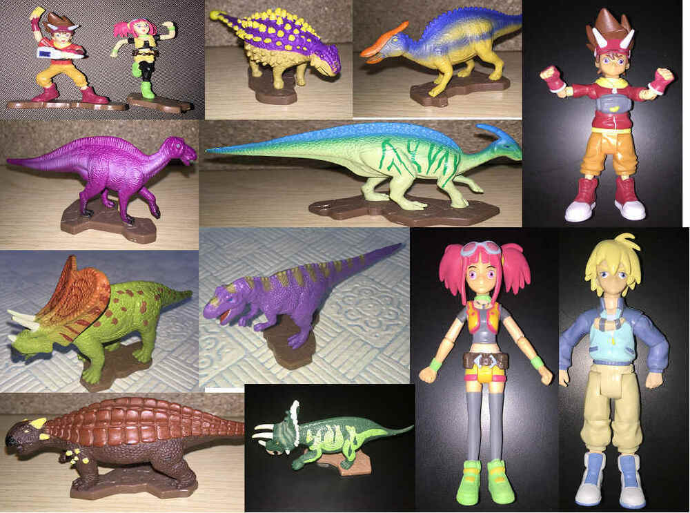 Dinosaur king toy figure sega sunrise ebay - Dinosaure king ...