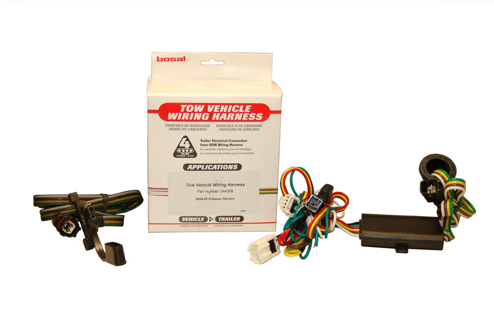 Bosal USA Wiring Harnes for a Nissan Murano 2009 2014