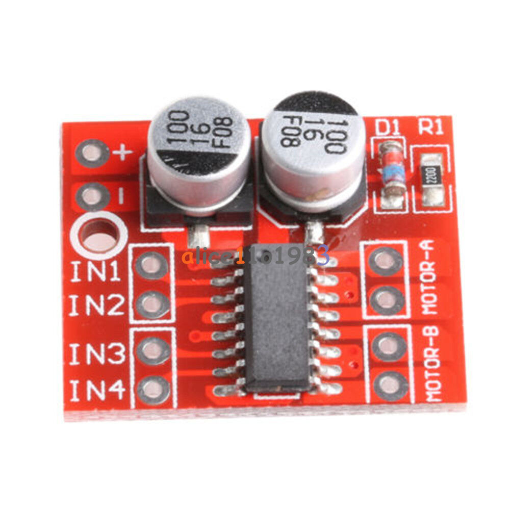 A mini dual channel motor driver board beyond replace