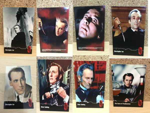 Hammer House of Horror  Films Picture Cards Actors & Scenes 2008