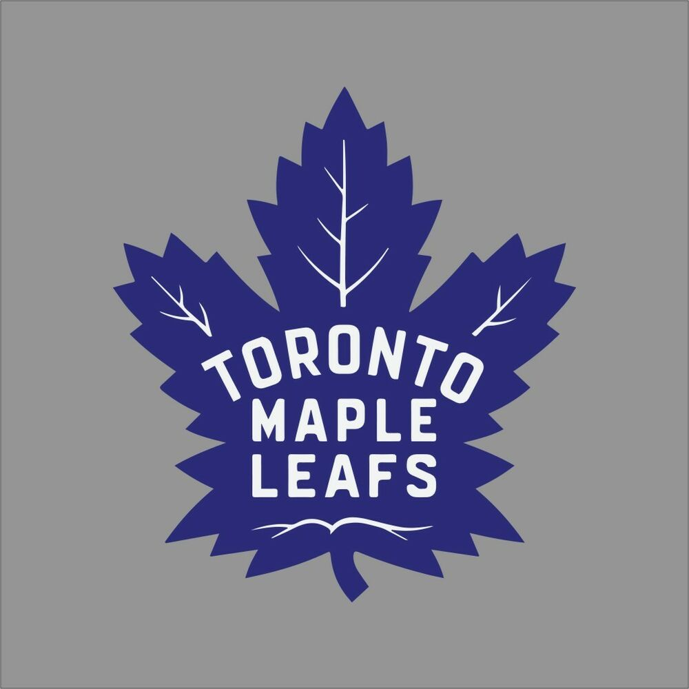 Toronto Maple Leafs 6 Nhl Team Logo Vinyl Decal Sticker