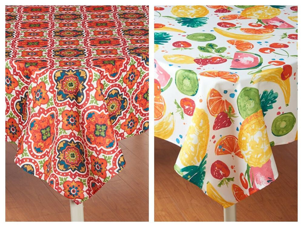 Medallion Amp Tutti Frutti Outdoor Fabric Umbrella Hole