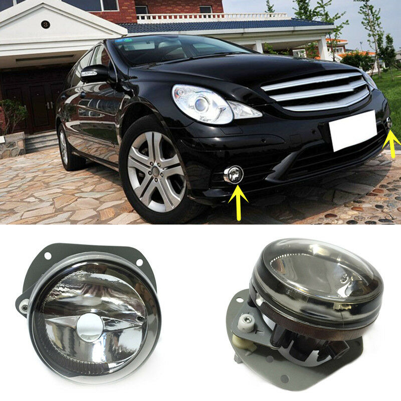 For mercedes benz r class 2005 2012 front bumper fog light for Mercedes benz front bumper parts