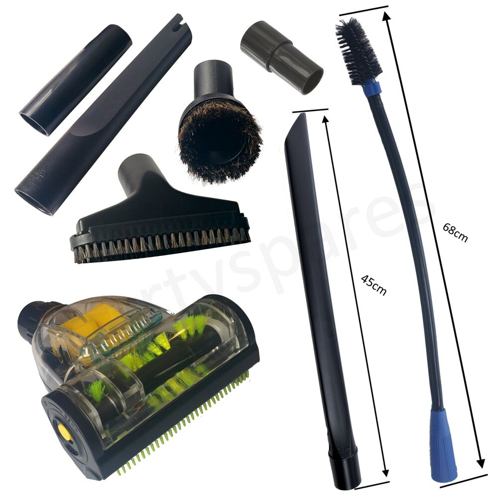 vax car valet vacuum hoover cleaning kit turbo brush crevice upholstery tool ebay. Black Bedroom Furniture Sets. Home Design Ideas