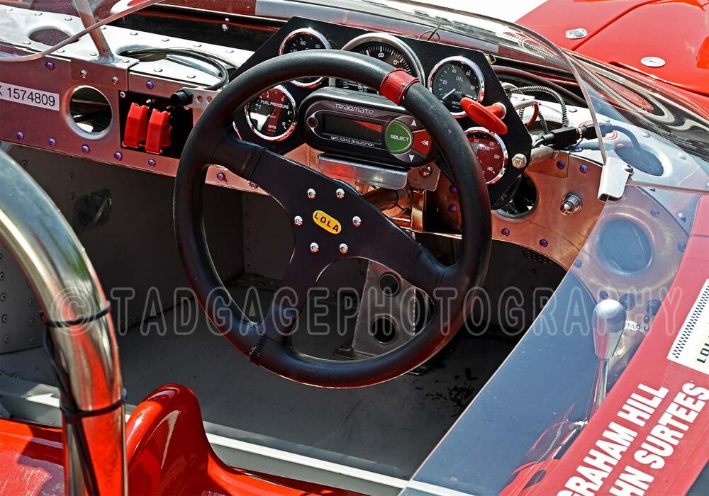 1965 lola t70 mk ii interior vintage classic race car photo ca 0532 ebay. Black Bedroom Furniture Sets. Home Design Ideas