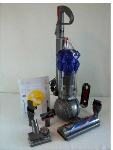 new dyson dc50 ball animal compact bagless upright vacuum blue iron extra tools 879957007147 ebay. Black Bedroom Furniture Sets. Home Design Ideas