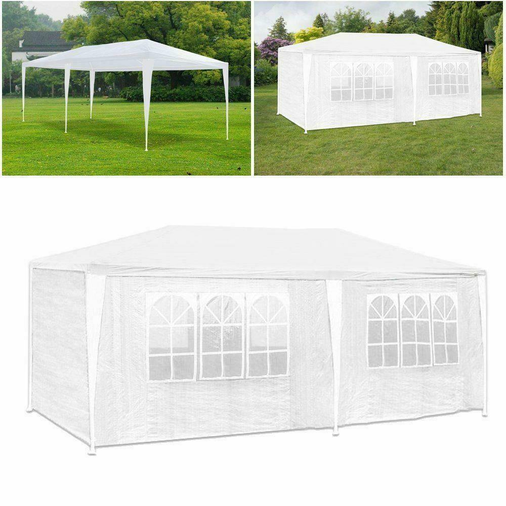 10 39 x 20 39 party tent outdoor heavy duty gazebo wedding canopy w 6 side walls ebay. Black Bedroom Furniture Sets. Home Design Ideas