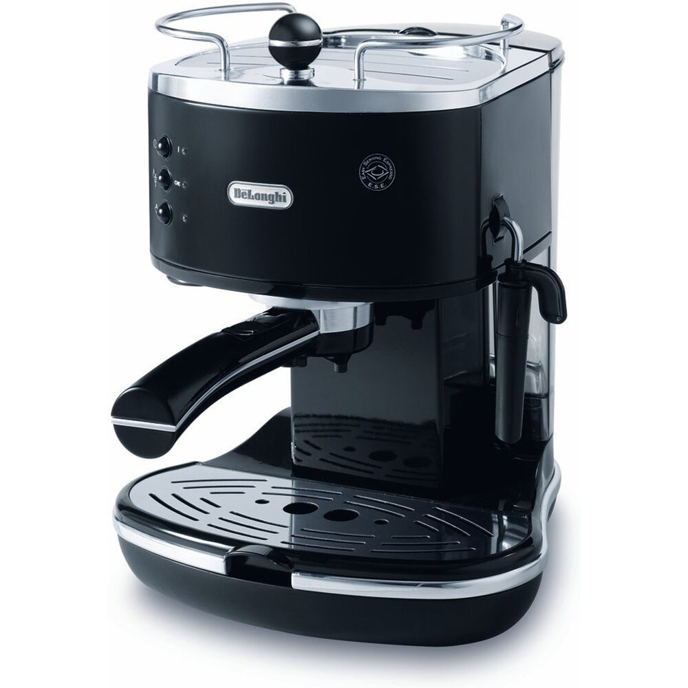delonghi eco310bk 15 bar icona pump espresso latte cappuccino maker tamper 44387203104 ebay. Black Bedroom Furniture Sets. Home Design Ideas