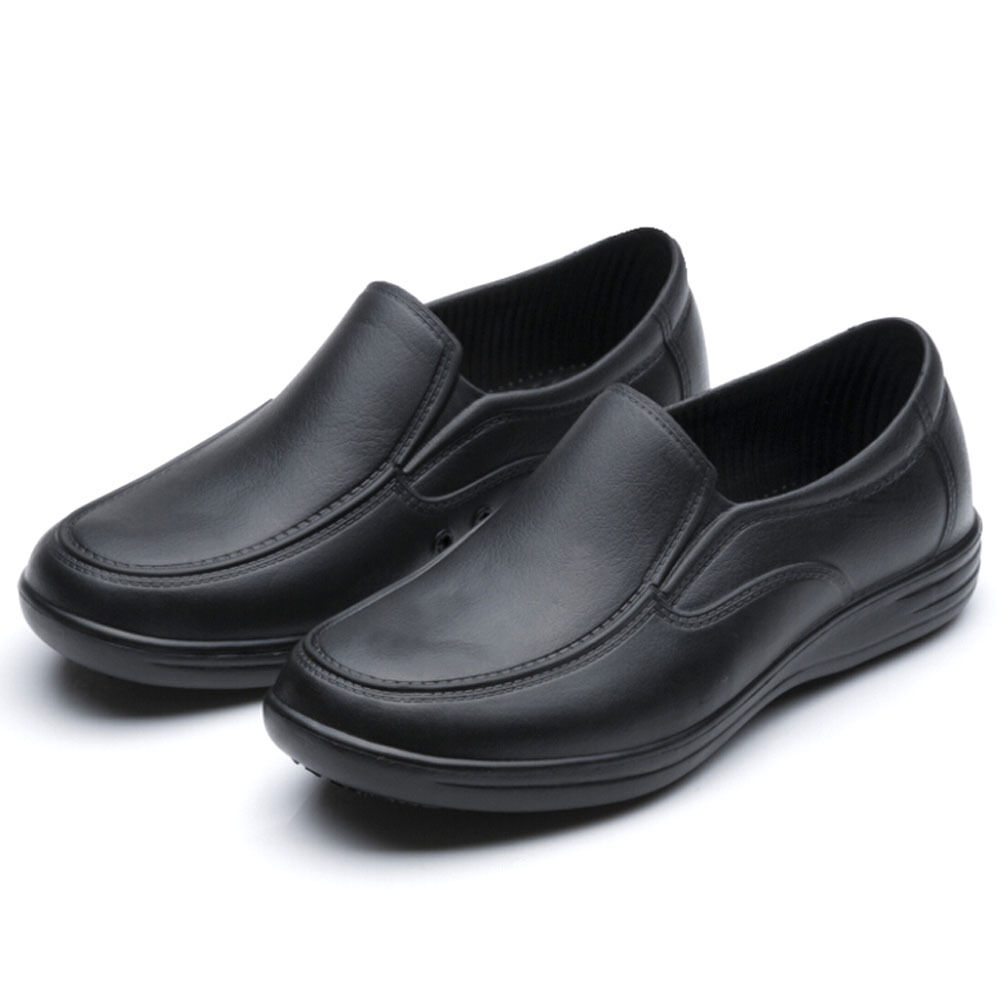 WAKO Mens Chef Shoes Nonslip Safety Shoes For Kitchen Cook