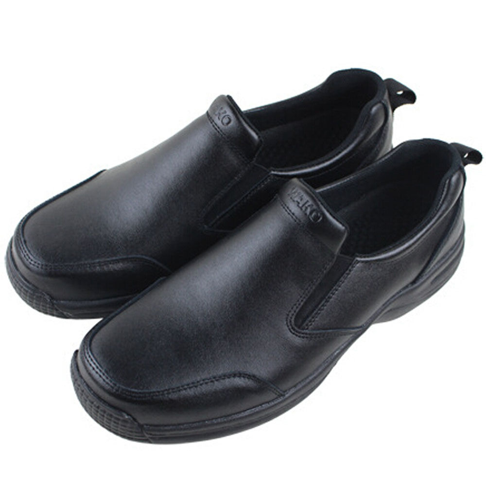wako mens leather chef shoes kitchen nonslip shoes safety