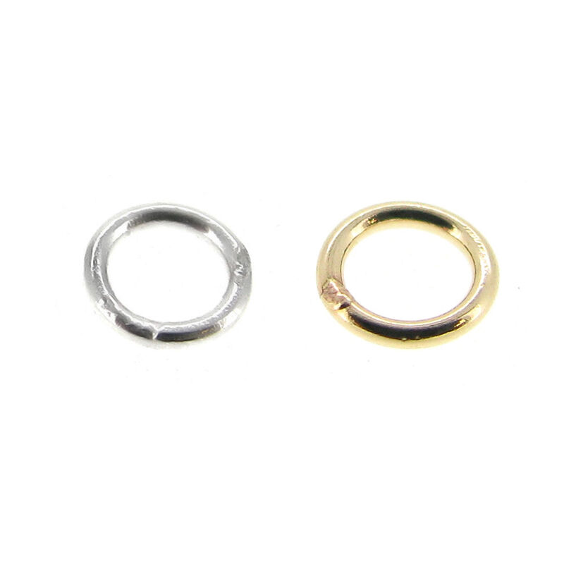 14k gold filled 925 sterling silver closed